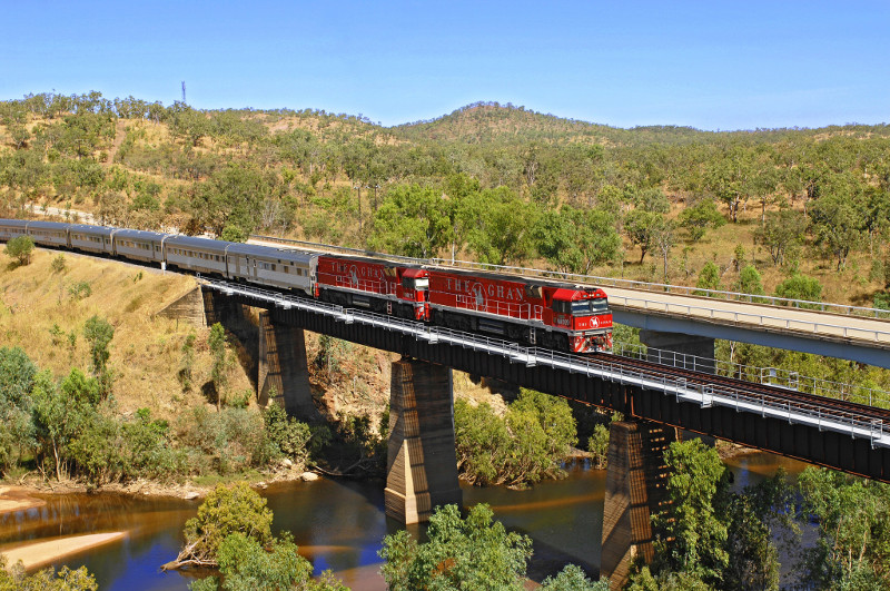 The Ghan Railway - a luxury, historic journey