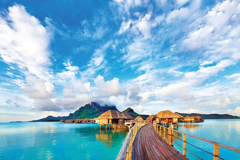 Four Seasons BoraBora Tahiti Overwater Bungalows