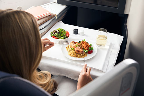 Air Canada Food and Beverage