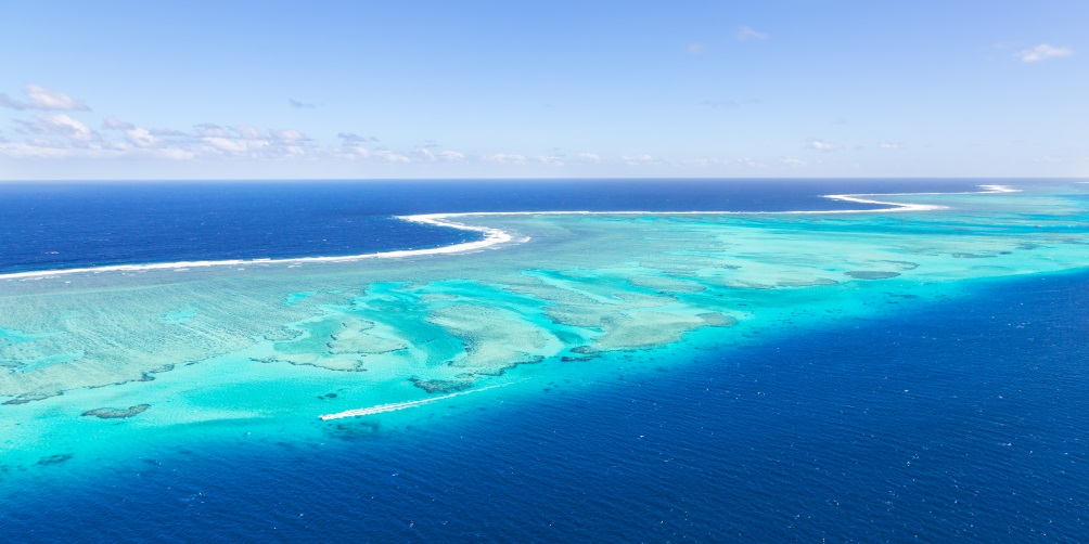 Aerial View of Fiji