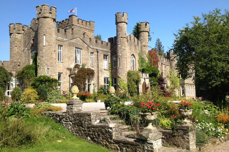 Picturesque Augill Castle in Cumbria