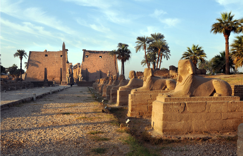 Avenue of Sphinxes at Luxor Temple