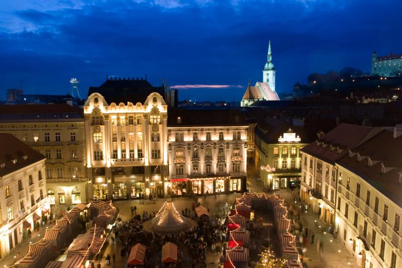 Bratislava Christmas Market Europe