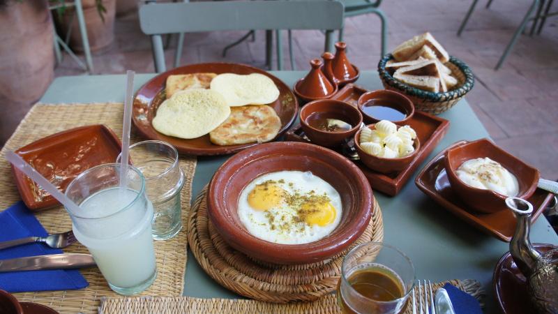 Breakfast Riad Morocco