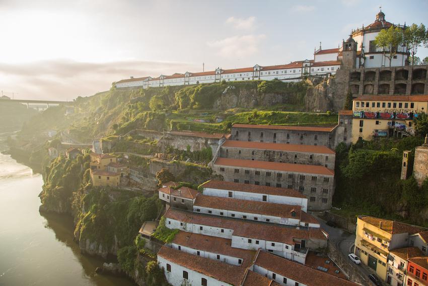 Portugal terraced area Douro