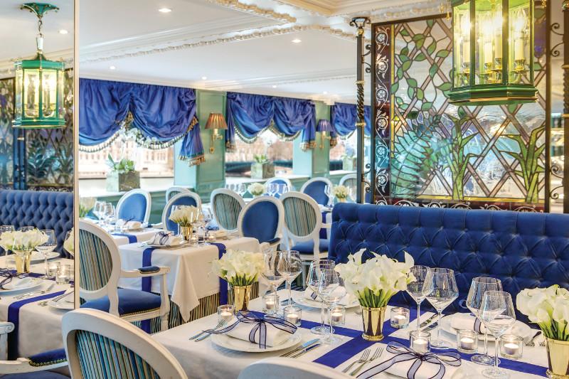 Cezanne Restaurant Uniworld SS Catherine