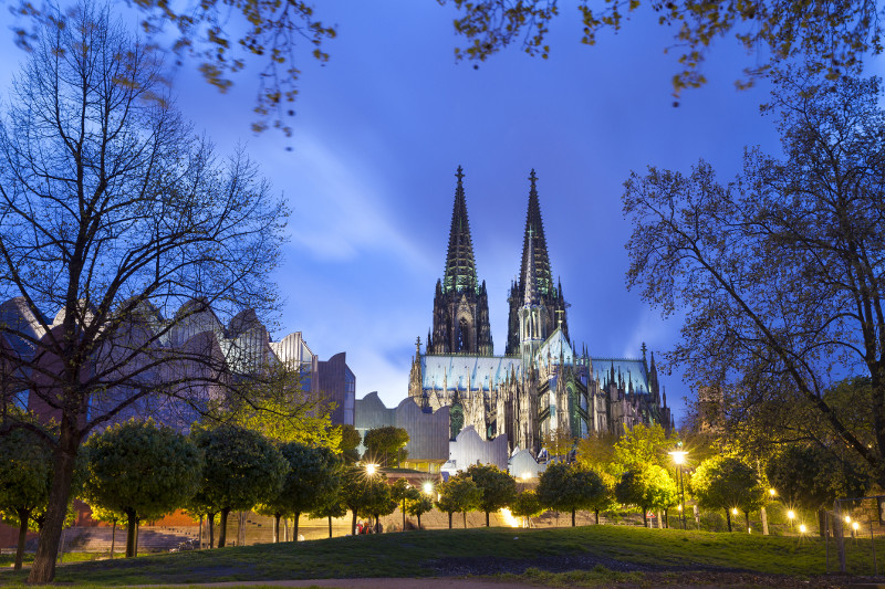 Cologne Cathedral Rhine Europe