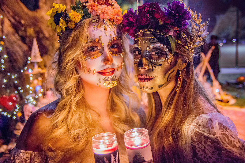 Day of the dead Mexico Halloween