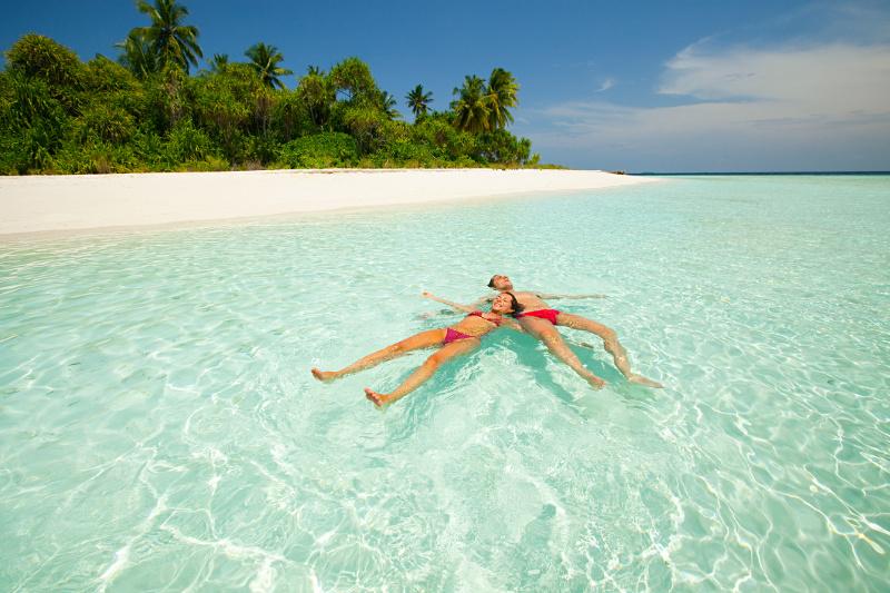 Deserted island Tahiti