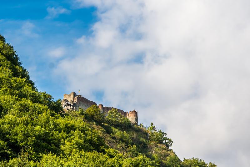 Poenari Castle Dracula, Romania