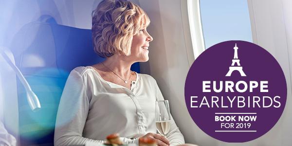 2019 Earlybird Europe Airfares