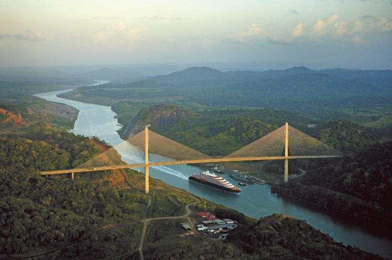 Ship sales through Panama canal