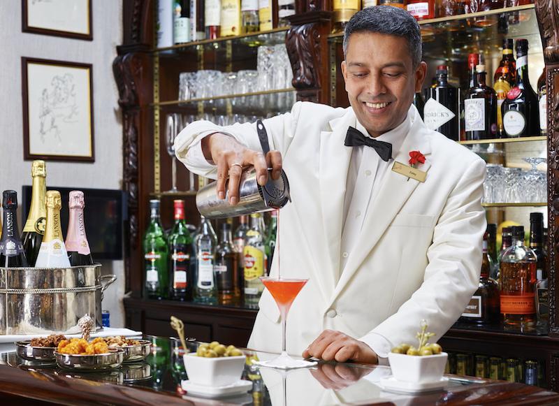 Esley, creator of London's best Martini Egerton House London