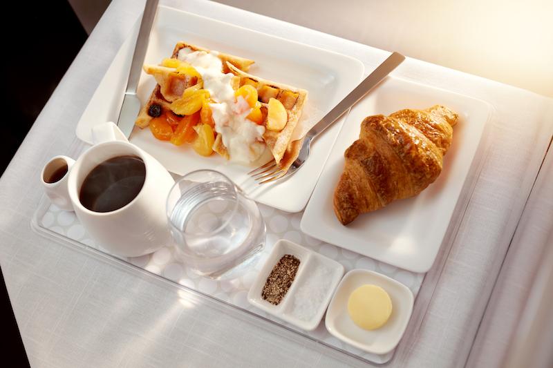Air NZ Business breakfast