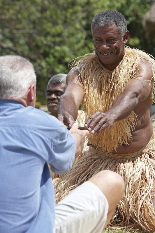 Fijian offering kava