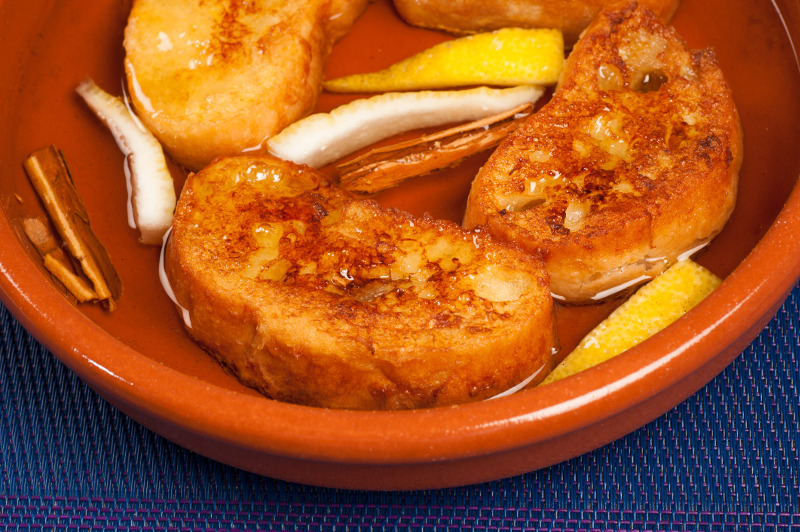 Torrija dessert from Spain