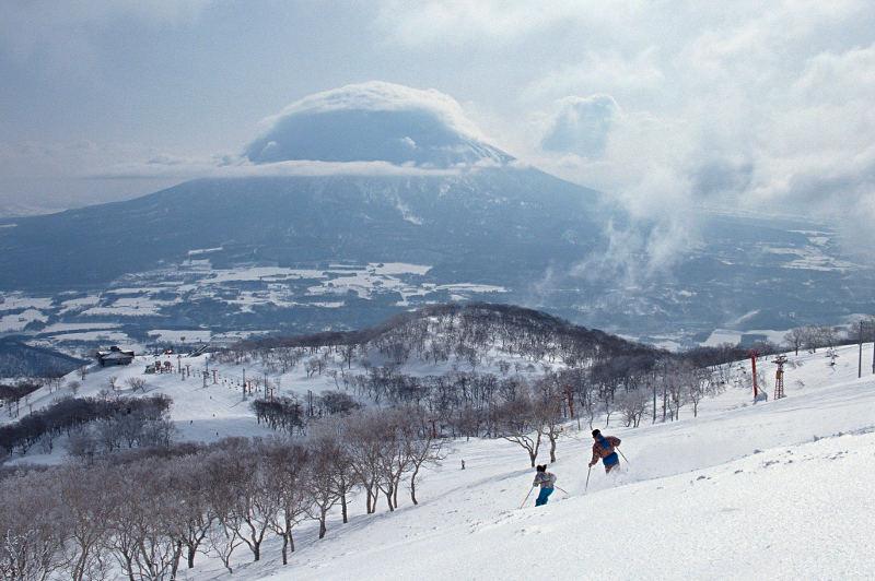 Skiing Niseko