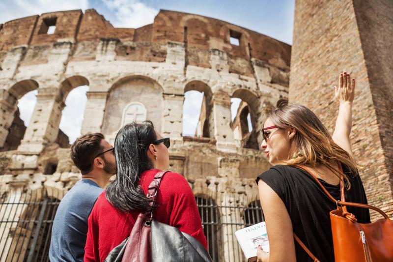 Tour of the Colosseum