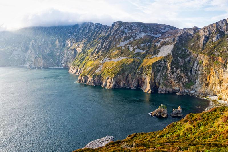 slieve league highest cliffs in europe ireland