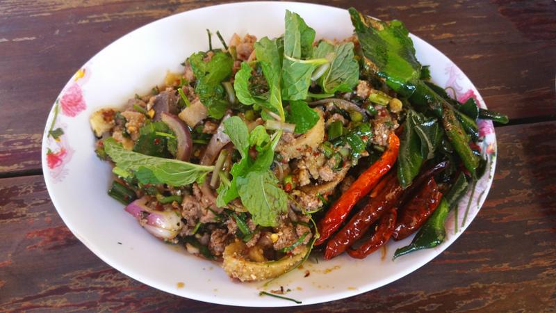 Larb Thai food