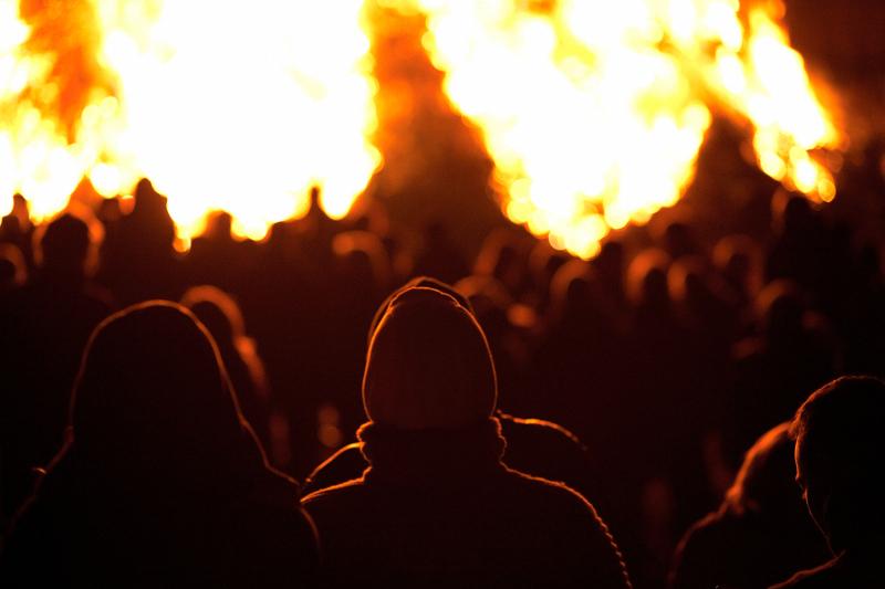 Halloween Bonfire Ireland