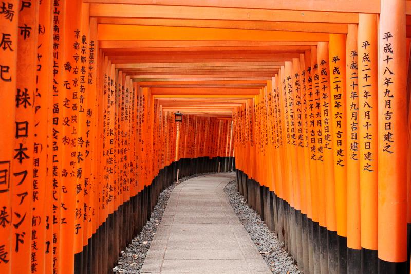 Fushimi Inari Shrine torii