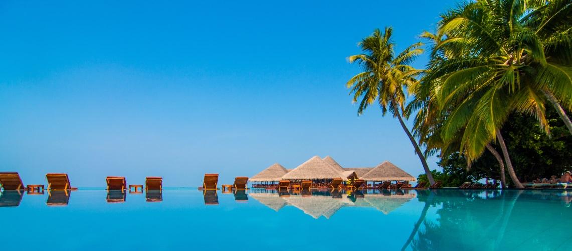 Infinity Pools at the Maldives