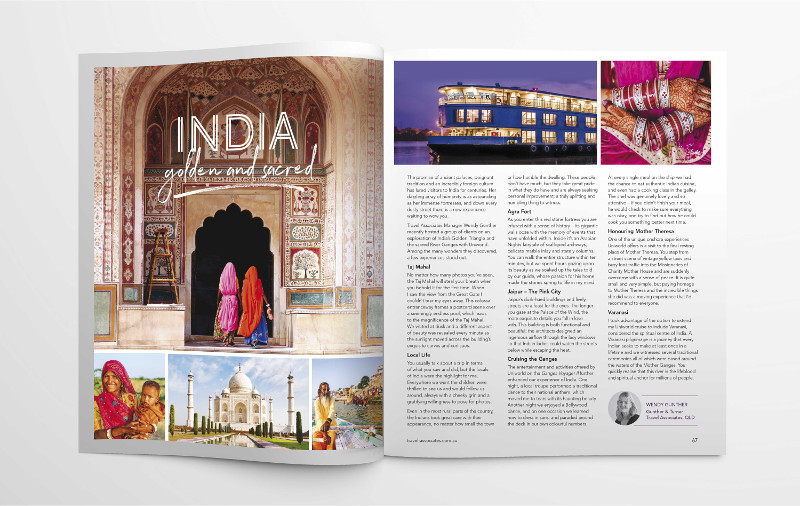 India feature in Inspirations Travel Magazine