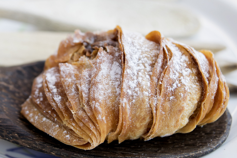 Sfogliatelle pastry from Italy