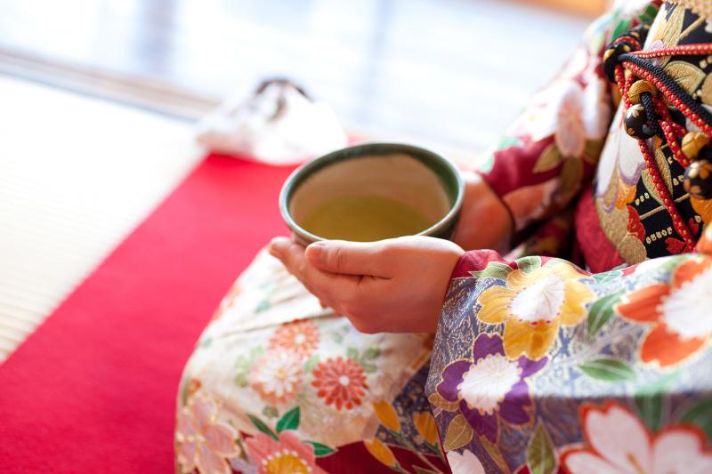 Japanese tea ceremony with maiko