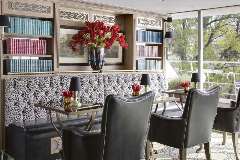 Leopard Lounge SS Catherine Uniworld
