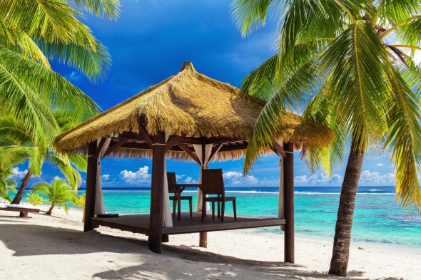 Luxury Gazebo in the Cook Islands