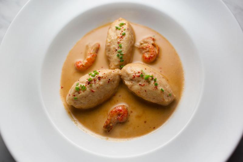 Quenelles dumplings