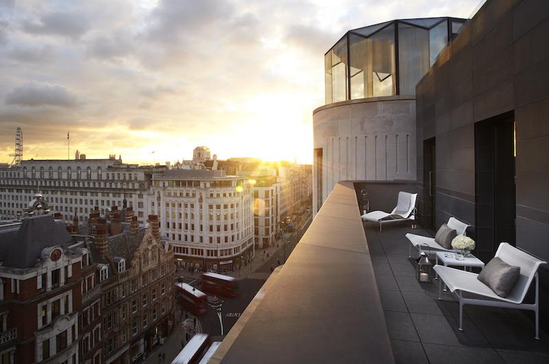 ME London Hotel rooftop views