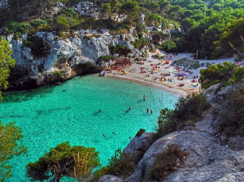Cala Macarelleta on Menorca