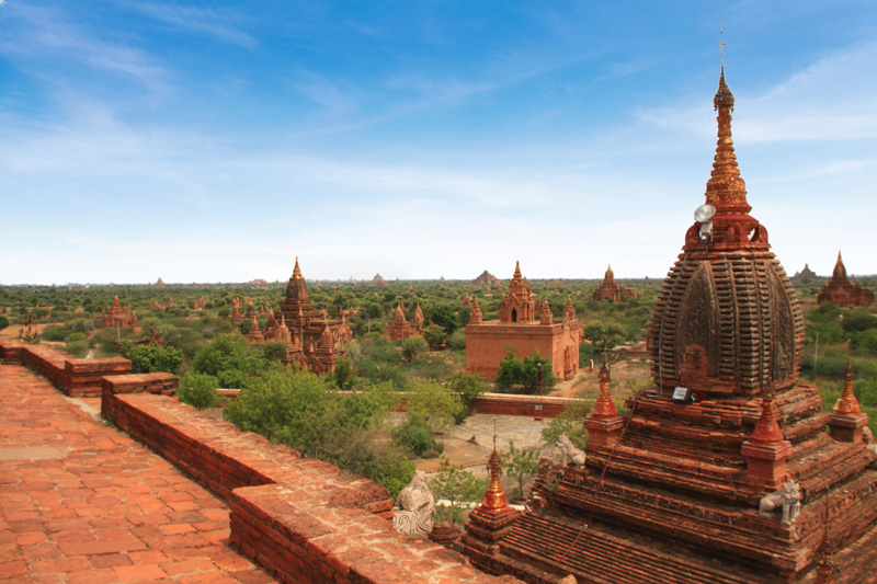 Experience the magnificent landscapes and temples of Bagan as you cruise the mighty Irrawaddy River.