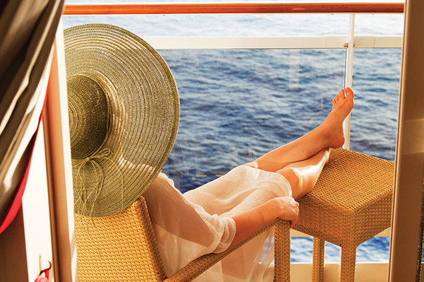 Its surprisingly easy to enjoy quality alone time, and peace and quiet, on an ocean cruise.