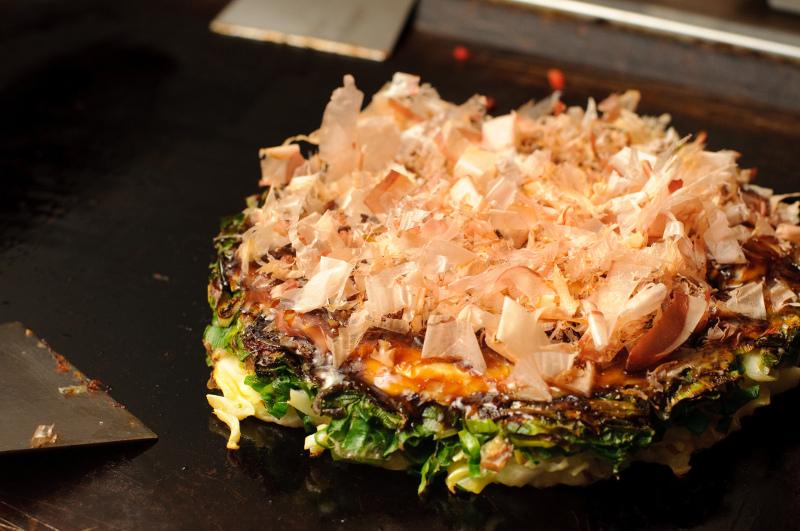 Okonomiyaki Japanese food