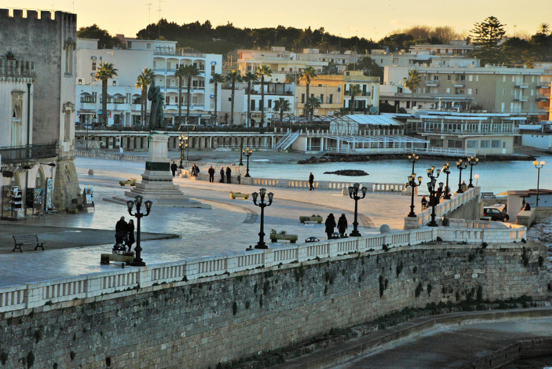 The gorgeous seaside town of Otranto