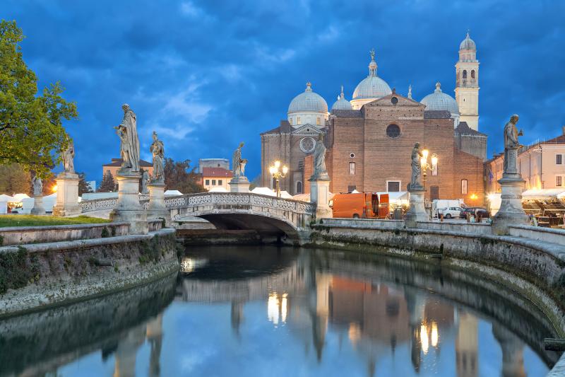Padua Canals Italy