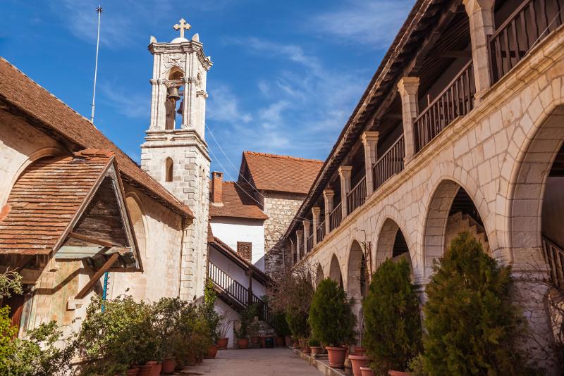 The Monastery Panagia Chrysorogiatissa