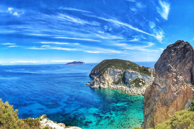 Ponza, Italy, Mediterranean