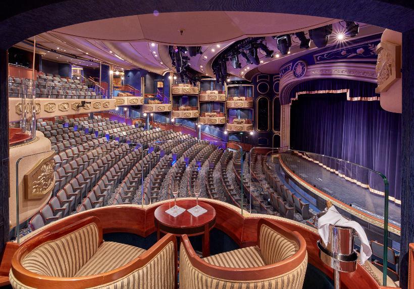 Queen Elizabeth Royal Court Theatre cunard