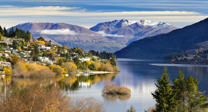 Queenstown is a popular New Zealand holiday spot