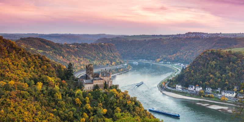 Romantic Rhine Gorge