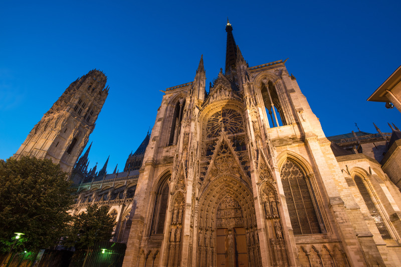 Rouen Cathedral Normandy