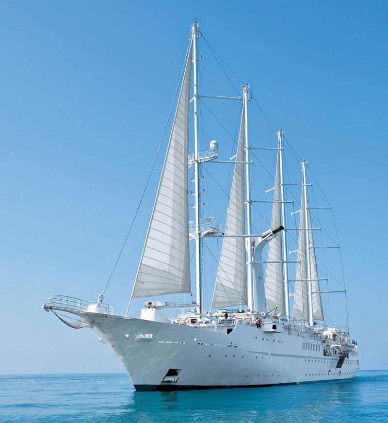 Wind Star yacht