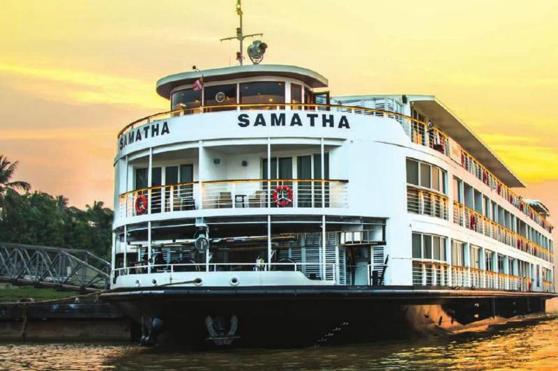 APT River cruising vessel RV Samantha