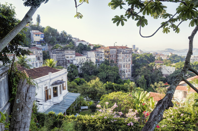 Picturesque Santa Teresa is Rio's version of the Hollywood Hills