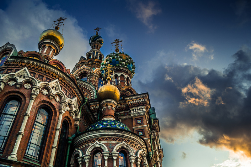 Saviour on Spilled Blood, St Petersburg, Russia